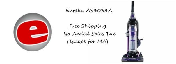 Eureka AS3033A Bagless Vacuum Feature Image